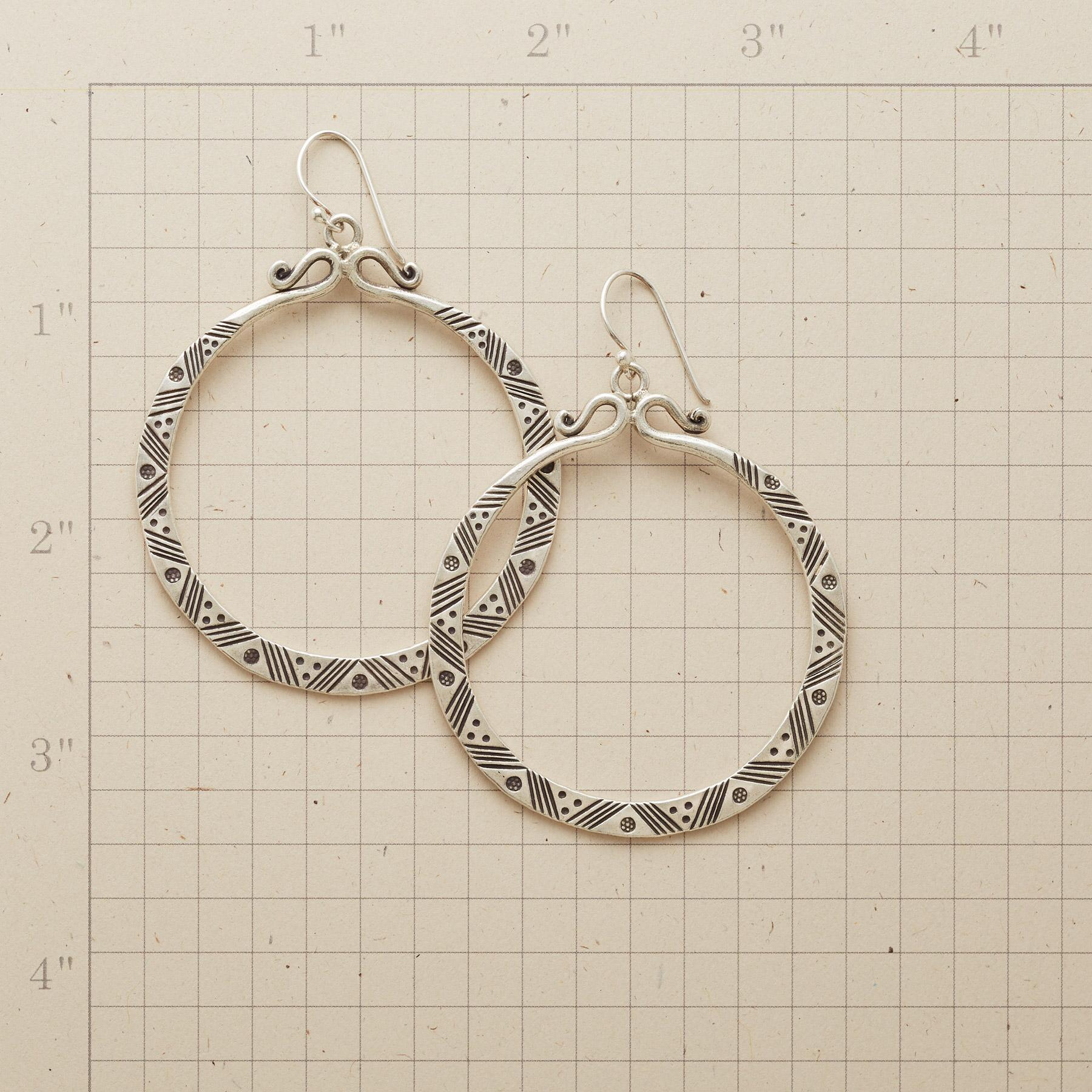 AKANA HOOP EARRINGS: View 2
