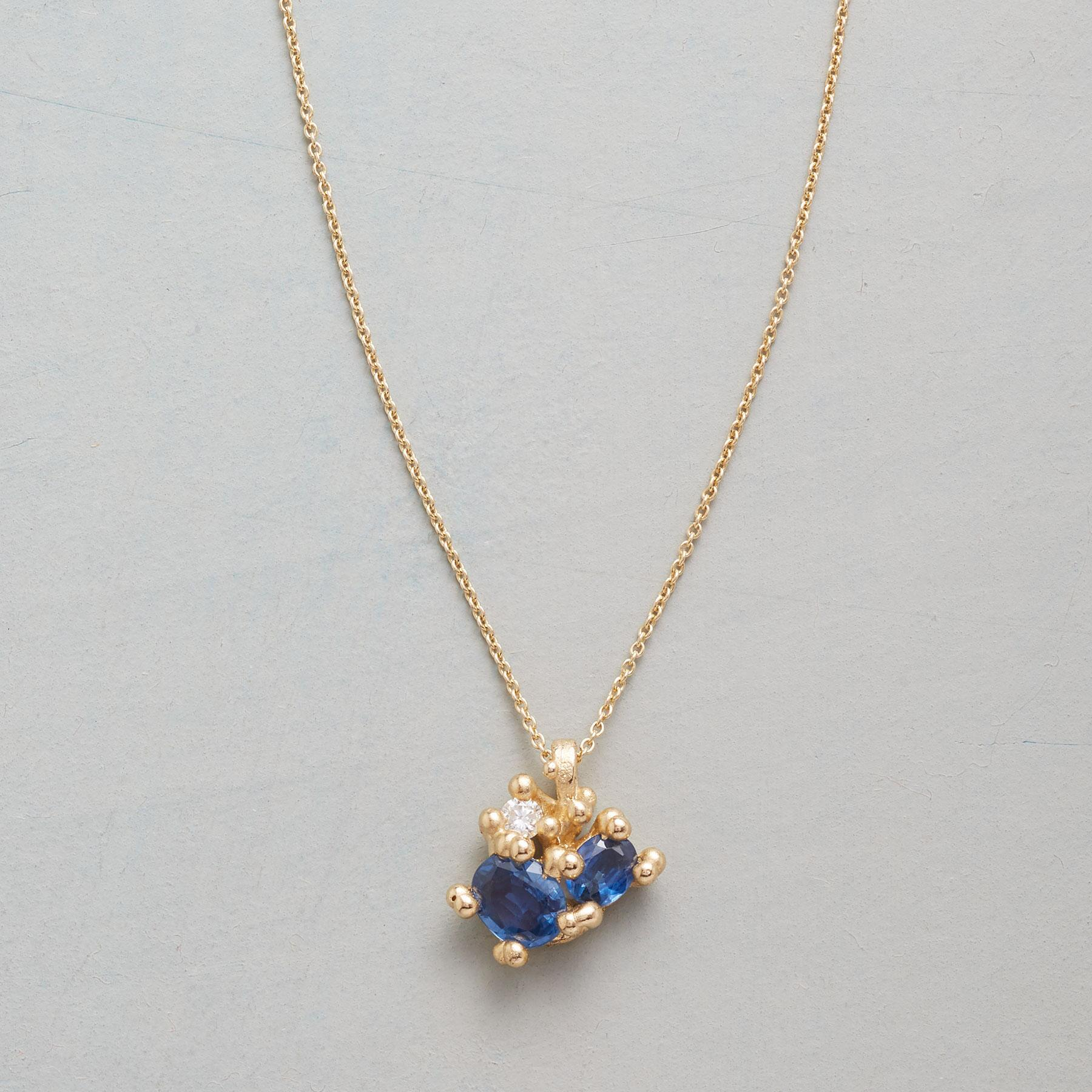 DIAMOND IN THE BLUE NECKLACE: View 1