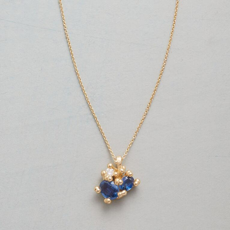 DIAMOND IN THE BLUE NECKLACE