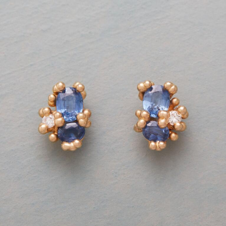 HIDDEN TREASURE SAPPHIRE EARRINGS