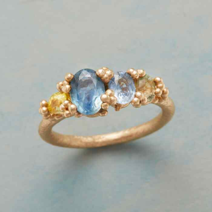 SAPPHIRE SEASCAPE RING