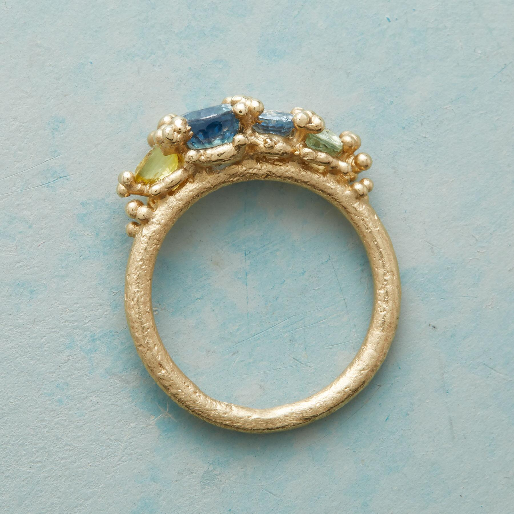 SAPPHIRE SEASCAPE RING: View 2