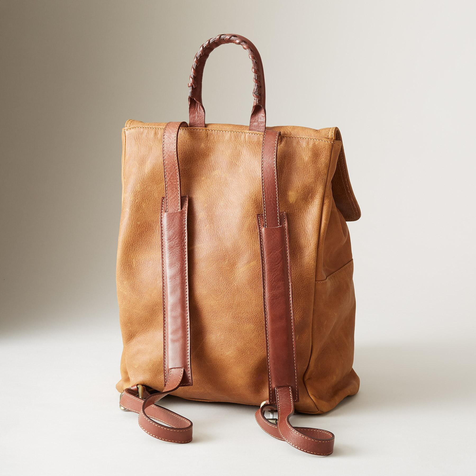 LEATHER SIMPLICITY BACKPACK: View 2