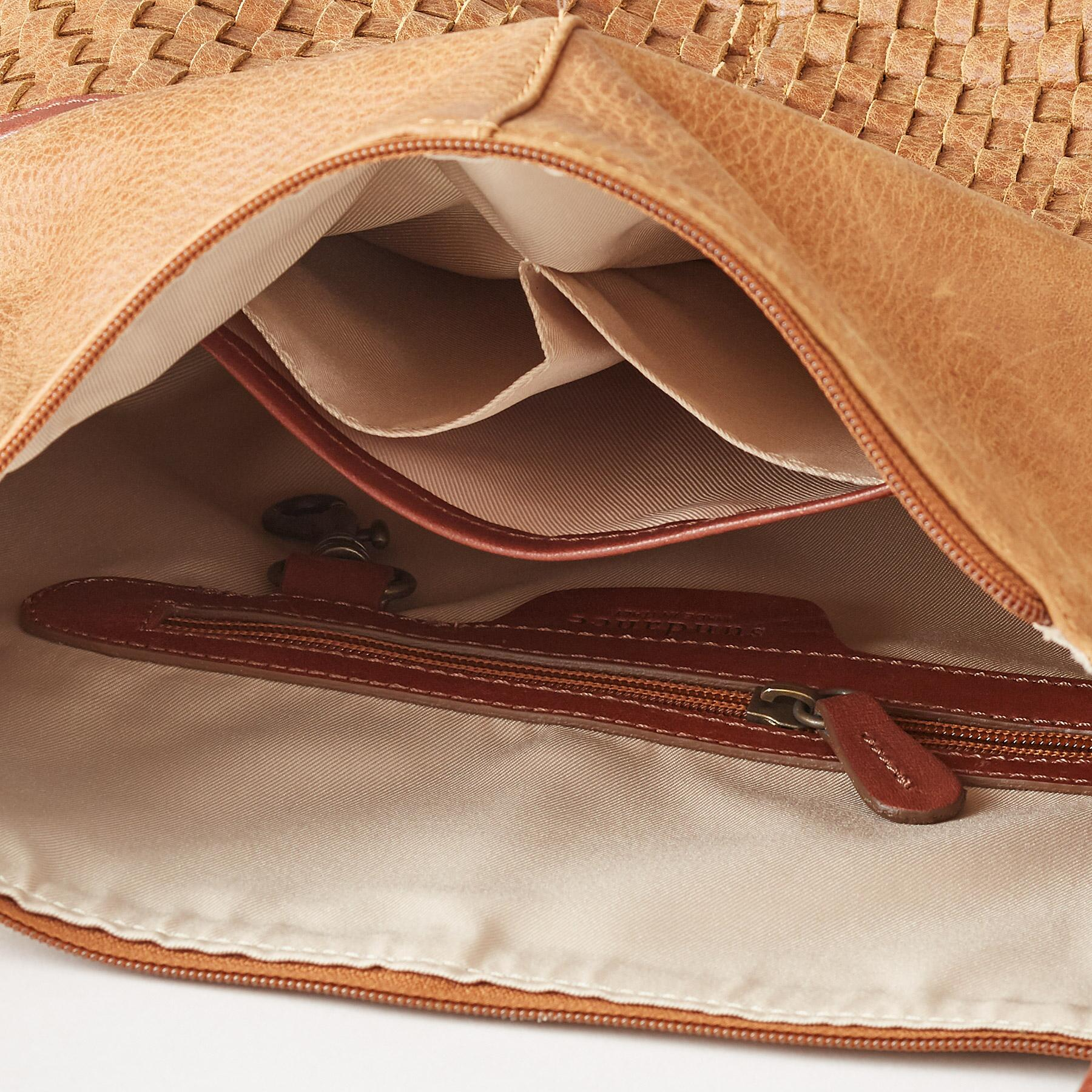 SIMPLICITY WOVEN POCKET BAG: View 3