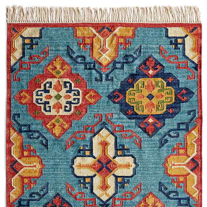 DIAMOND SUNRISE KILIM RUG
