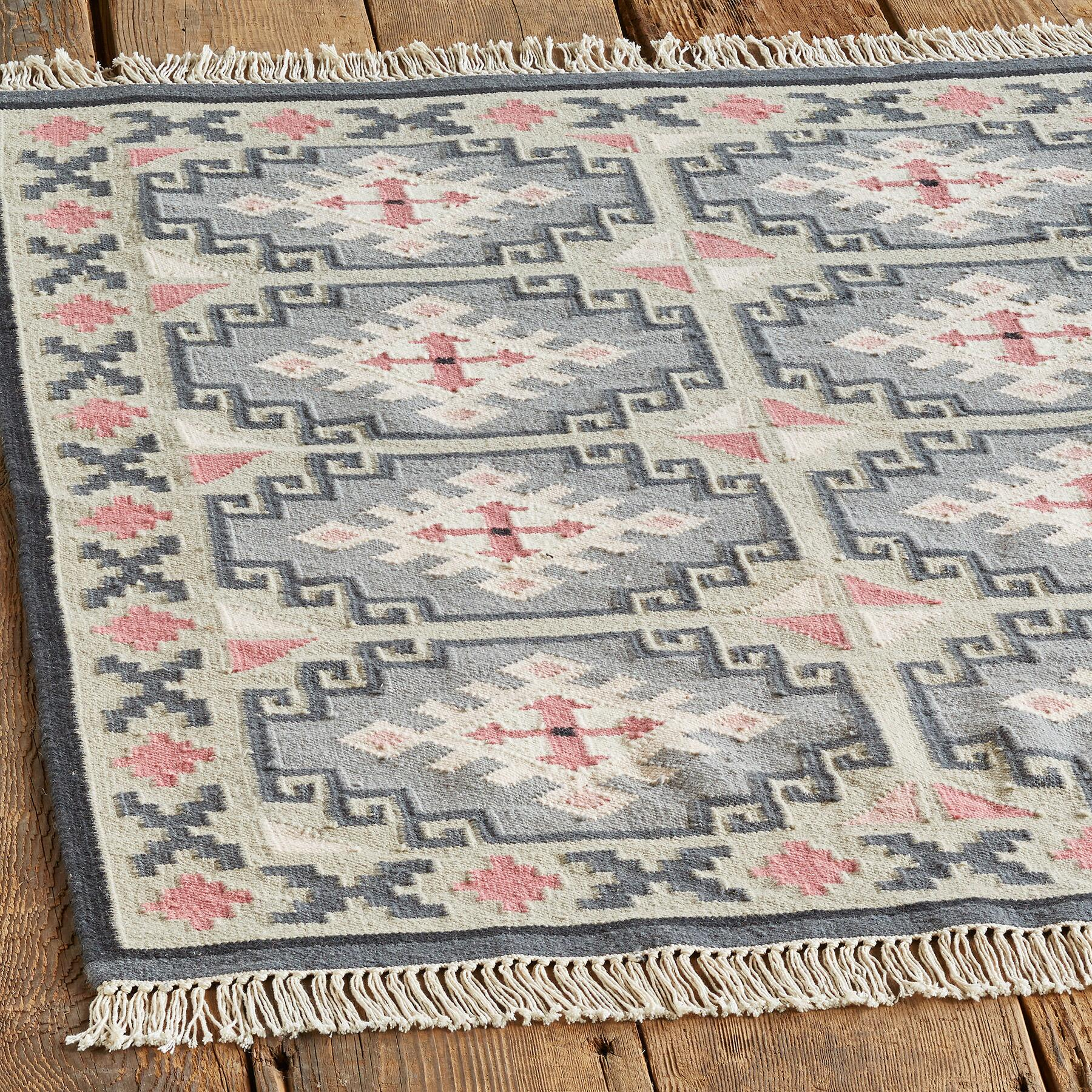 VALLEY OF THE STARS KILIM RUG - SM: View 2