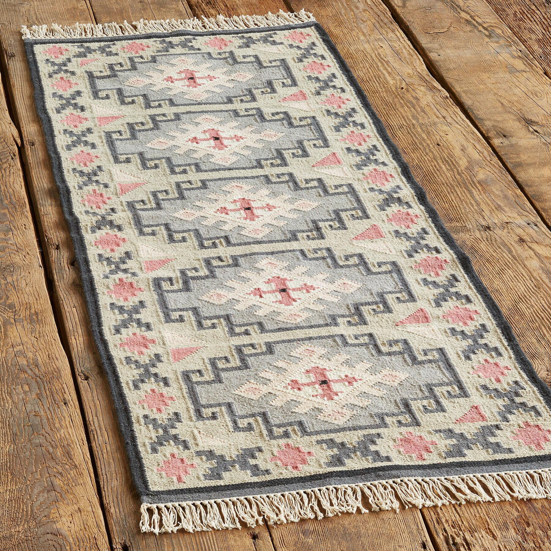 VALLEY OF THE STARS KILIM RUG - SM: View 3