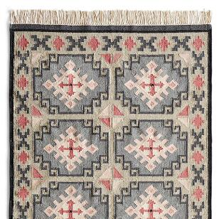 VALLEY OF THE STARS KILIM RUG - LG
