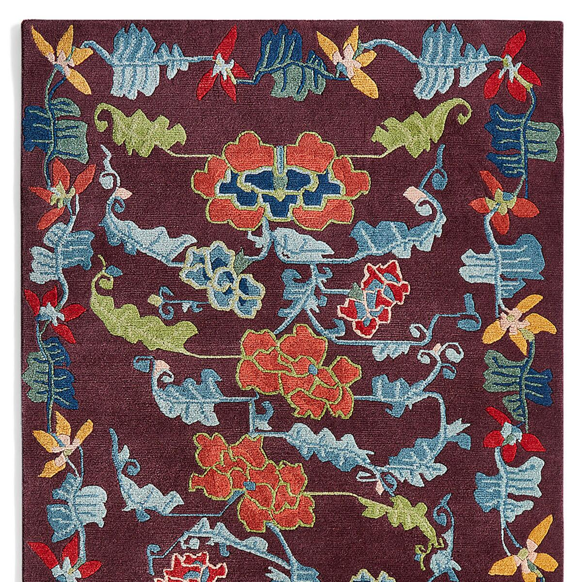 ANNAPURNA KNOTTED RUG - SM: View 1