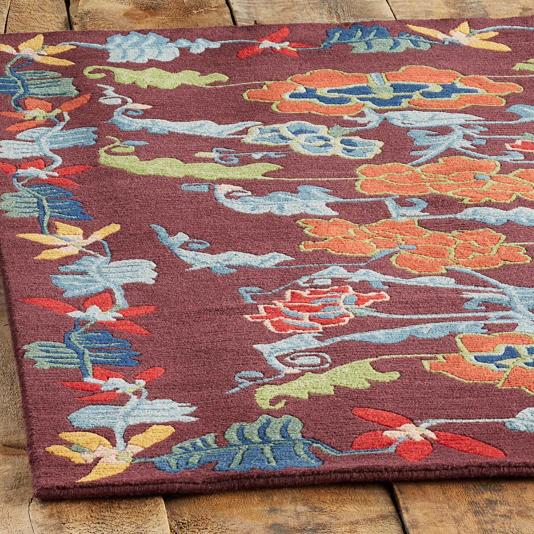 ANNAPURNA KNOTTED RUG - SM: View 2