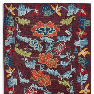 ANNAPURNA TIBETAN HAND KNOTTED RUG, LARGE