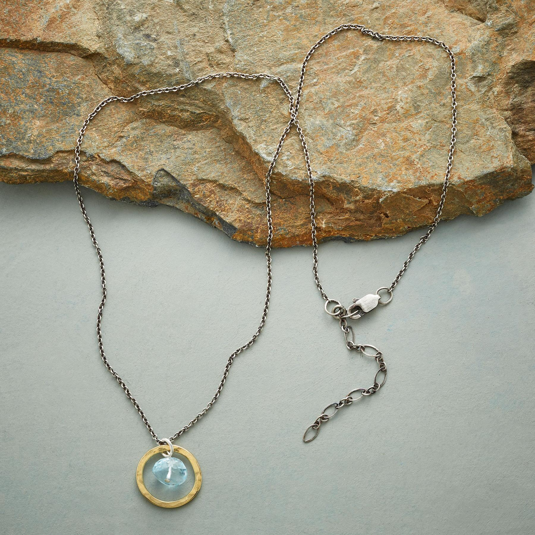 FLYING BLUE NECKLACE: View 2