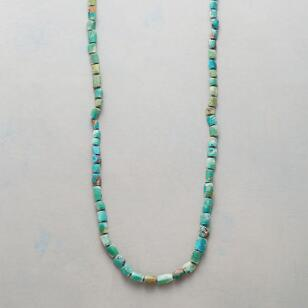 RUSTIC TURQUOISE NECKLACE