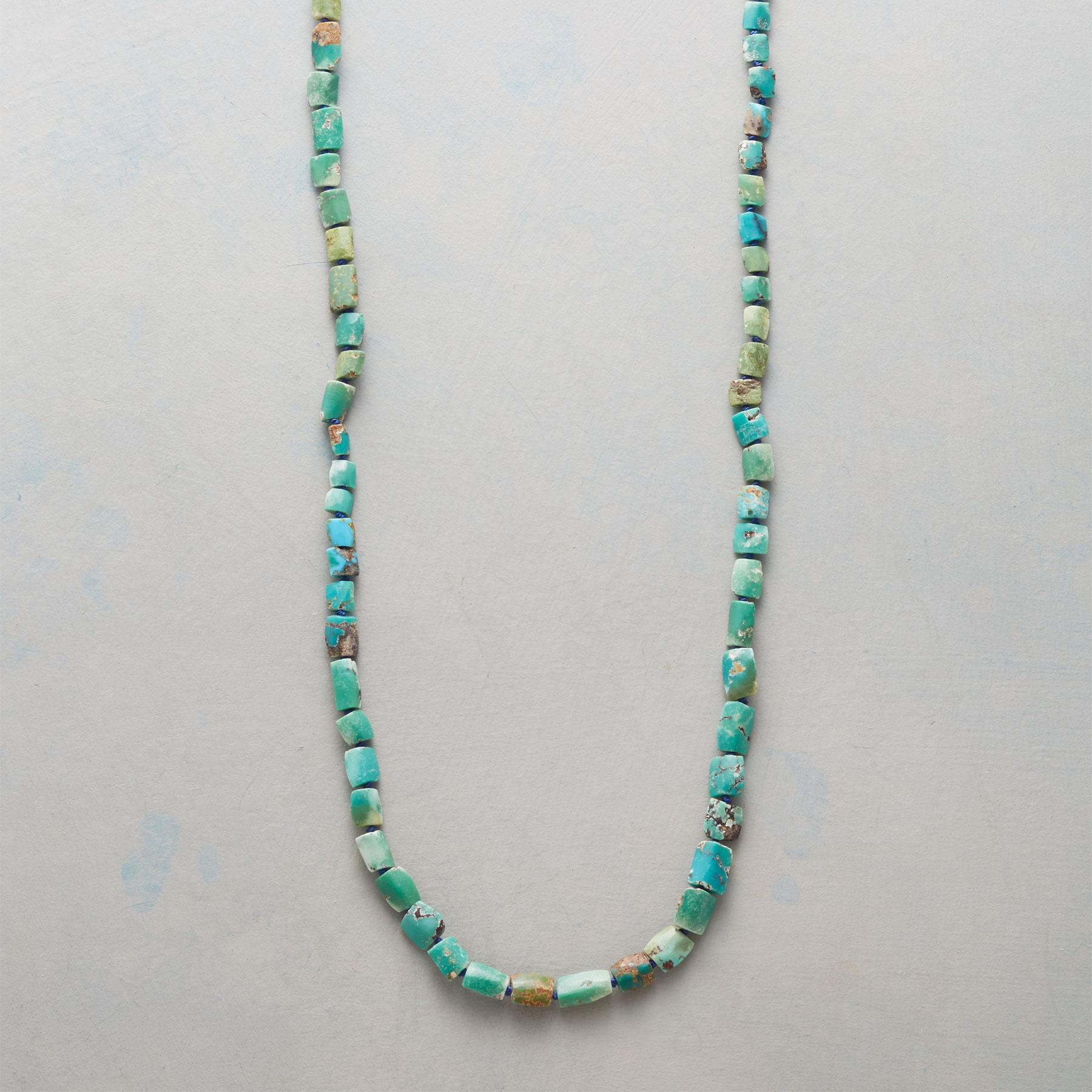 RUSTIC TURQUOISE NECKLACE: View 1