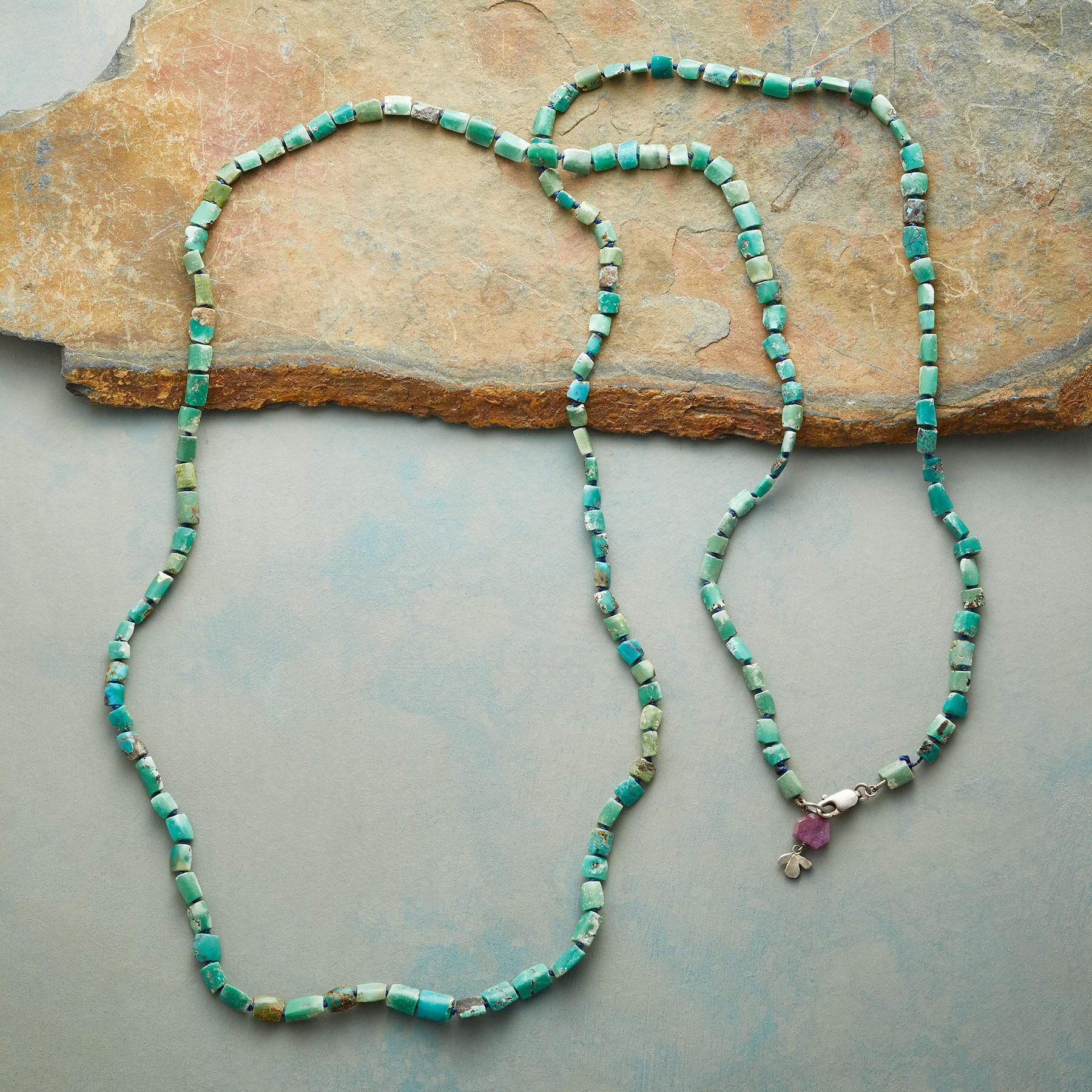 RUSTIC TURQUOISE NECKLACE: View 2