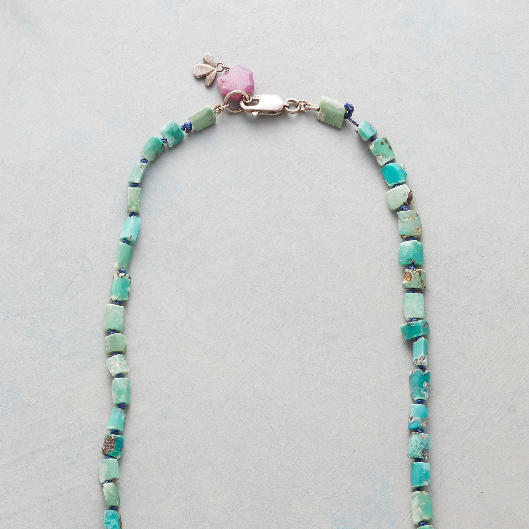 RUSTIC TURQUOISE NECKLACE: View 3
