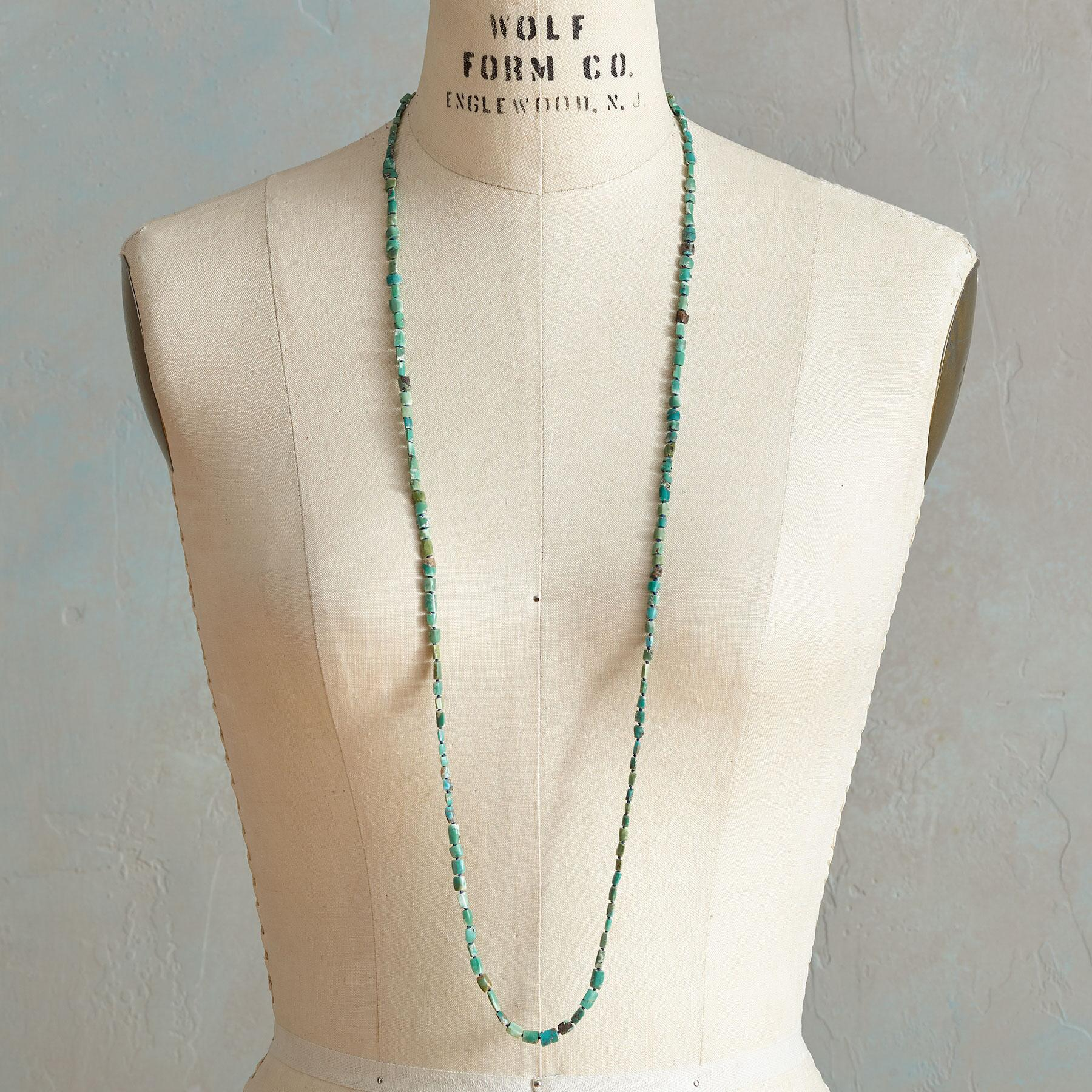 RUSTIC TURQUOISE NECKLACE: View 4