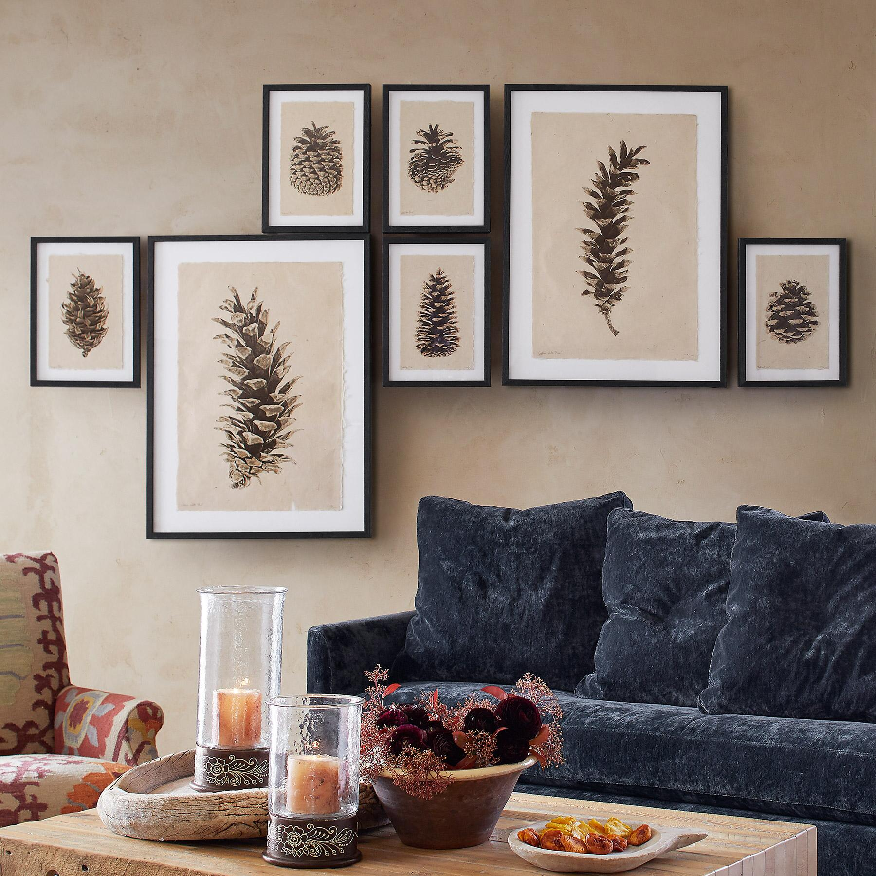 PINECONE STUDIES PRINT: View 2