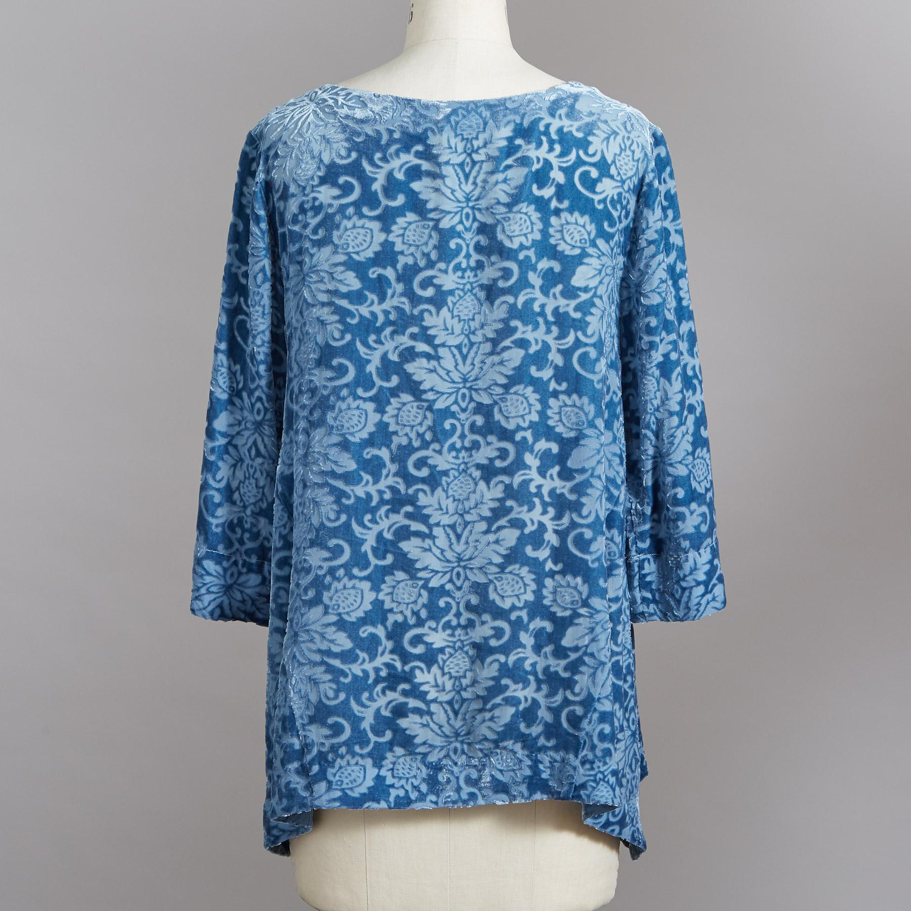 REGAL VELVET TUNIC: View 3