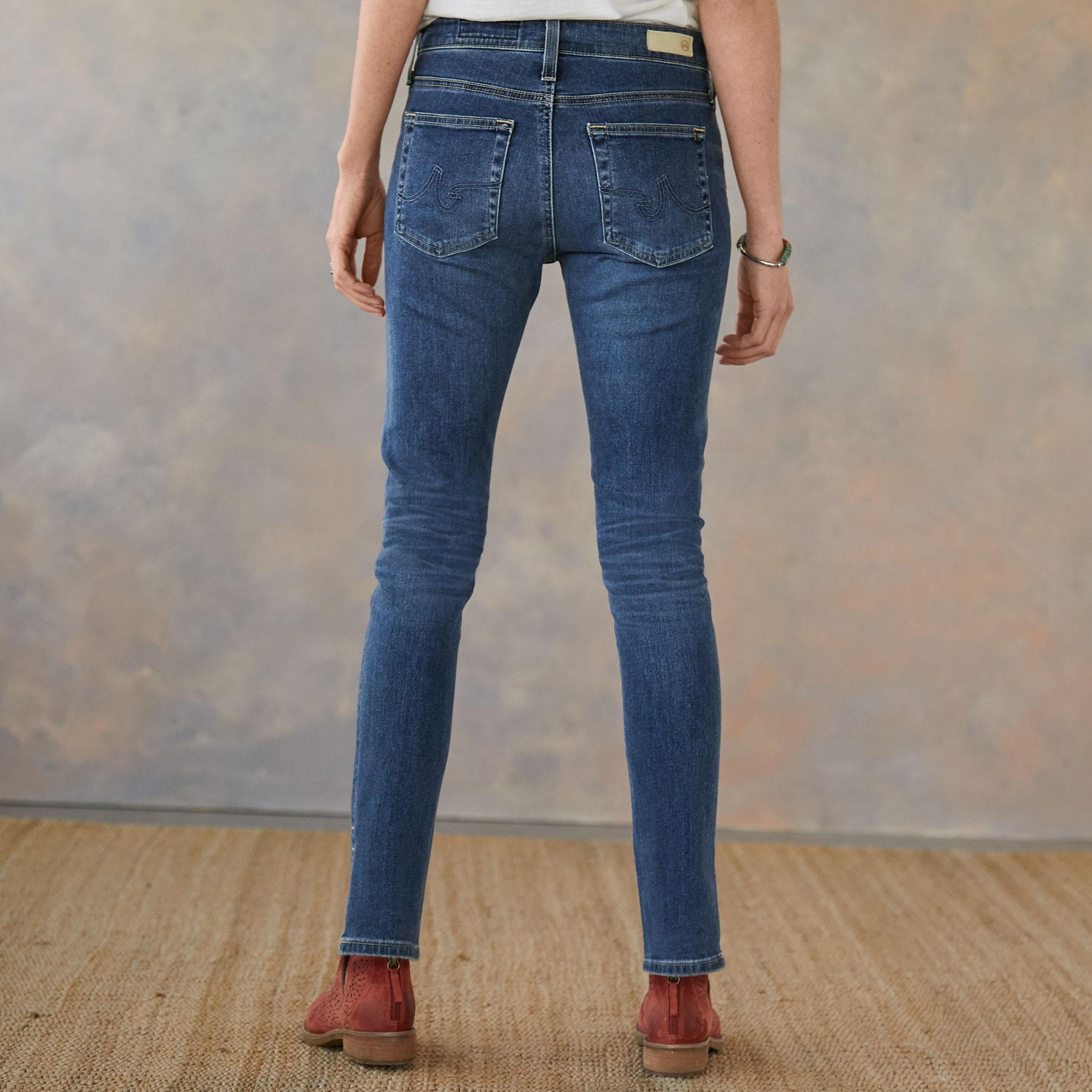 FARRAH SPLIT ANKLE JEANS: View 2