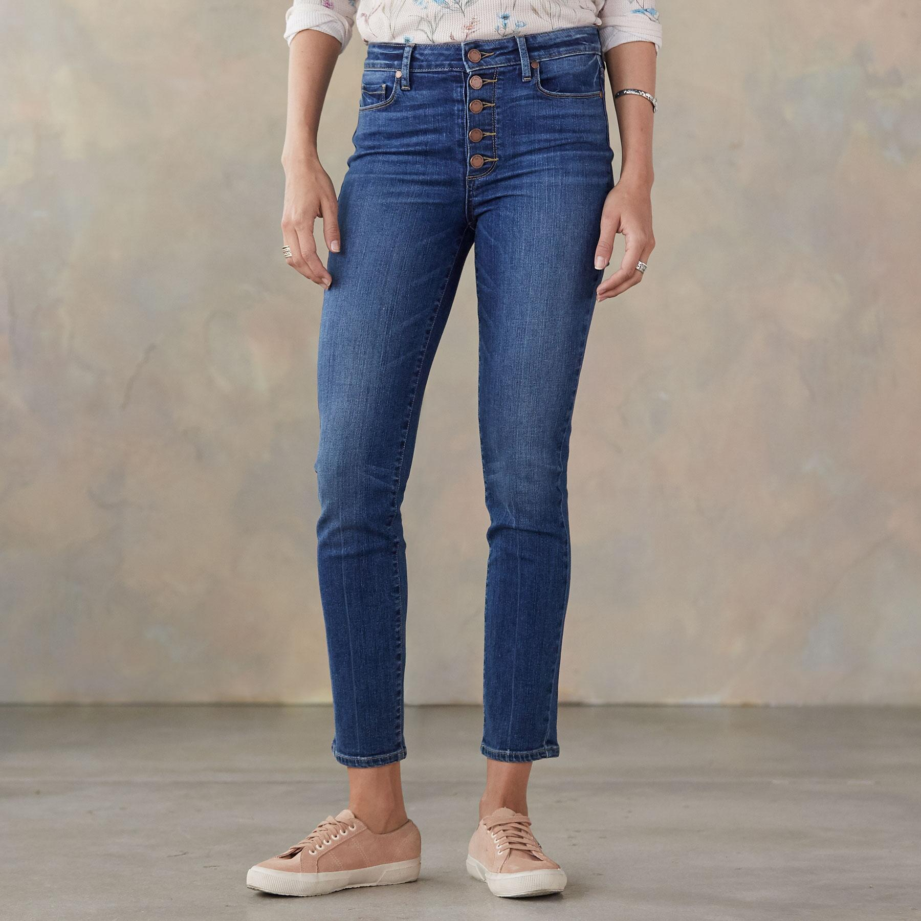 HOXTON ANKLE PEG JEANS: View 1