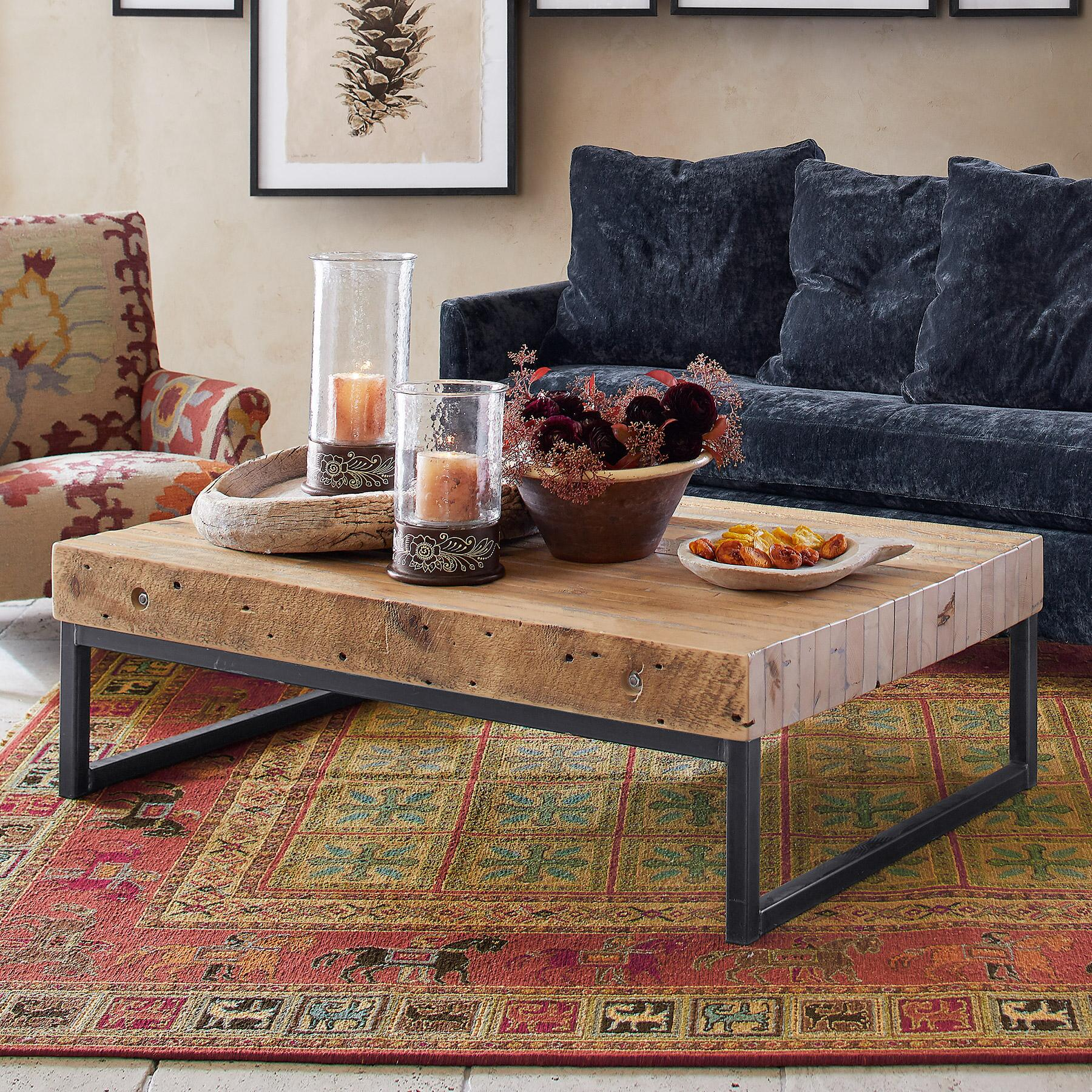 PINE BLUFF GRANARY COFFEE TABLE: View 1