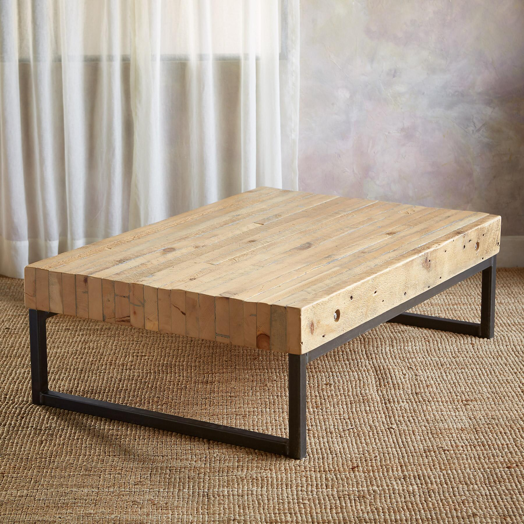 PINE BLUFF GRANARY COFFEE TABLE: View 2