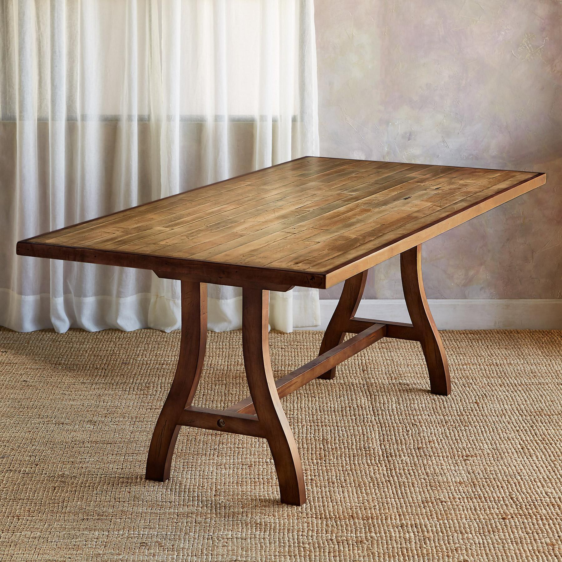 MAPLE CREEK DINING TABLE: View 2