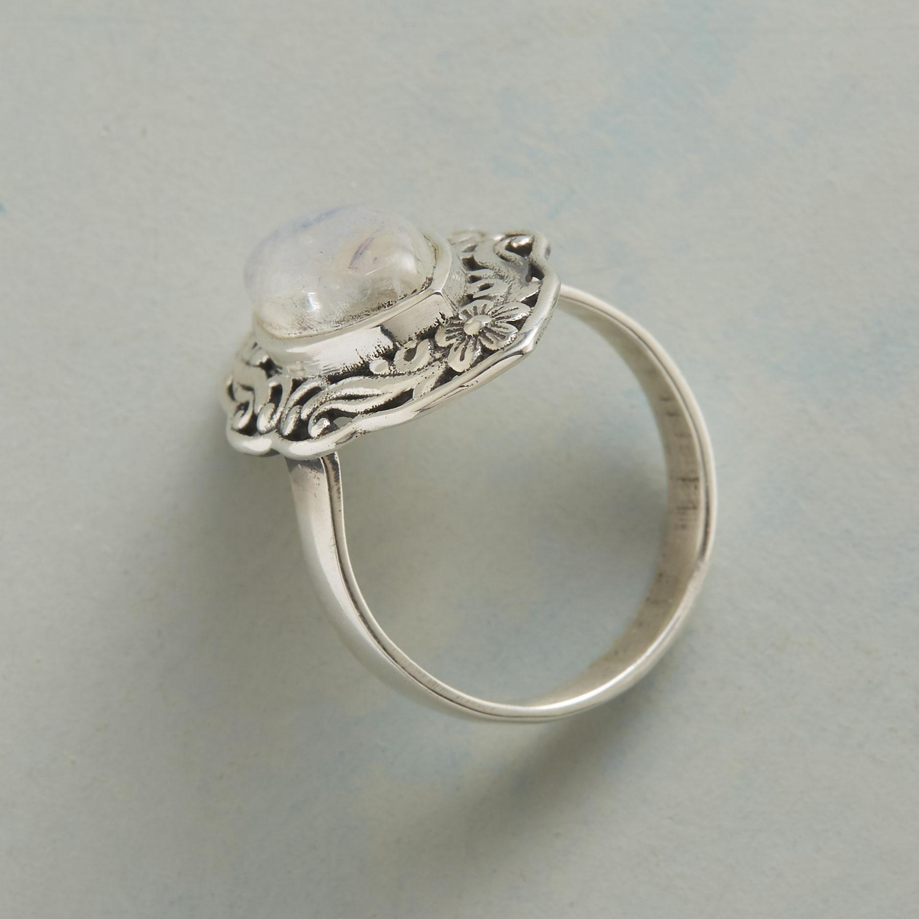 SWIRLED MARQUISE RING: View 2