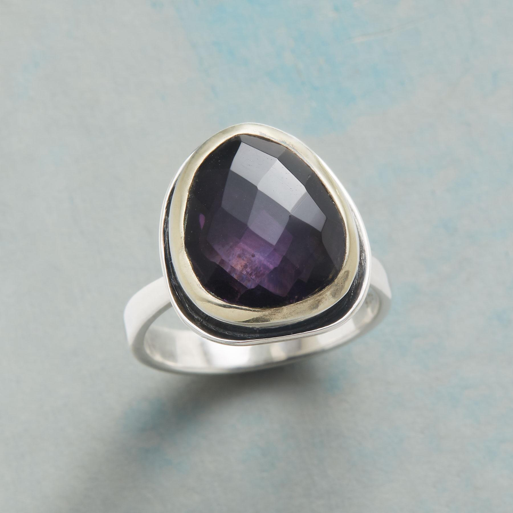 CRAZY FOR PURPLE RING: View 1