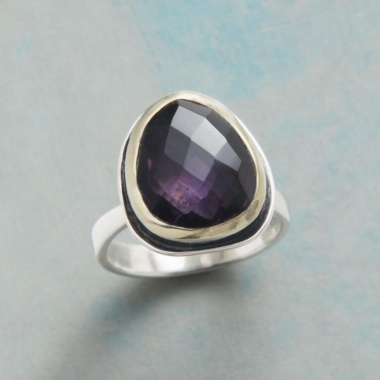 CRAZY FOR PURPLE RING