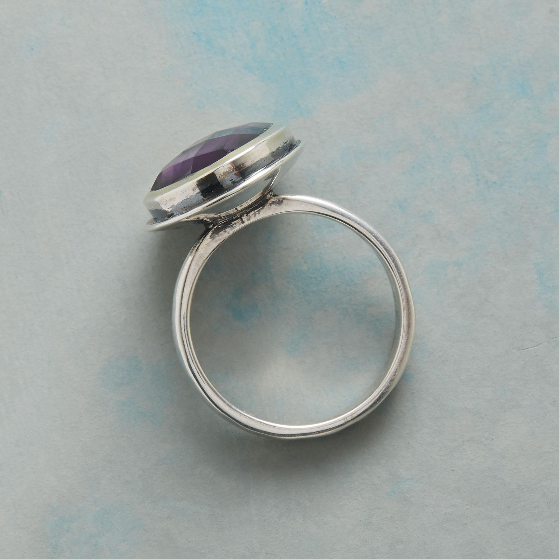 CRAZY FOR PURPLE RING: View 2