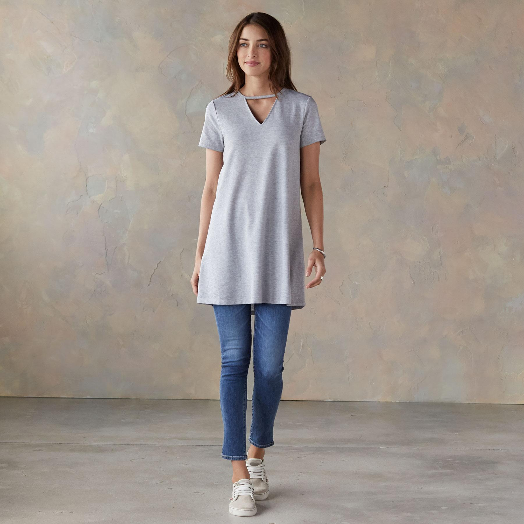 MONICA TEE TUNIC: View 1