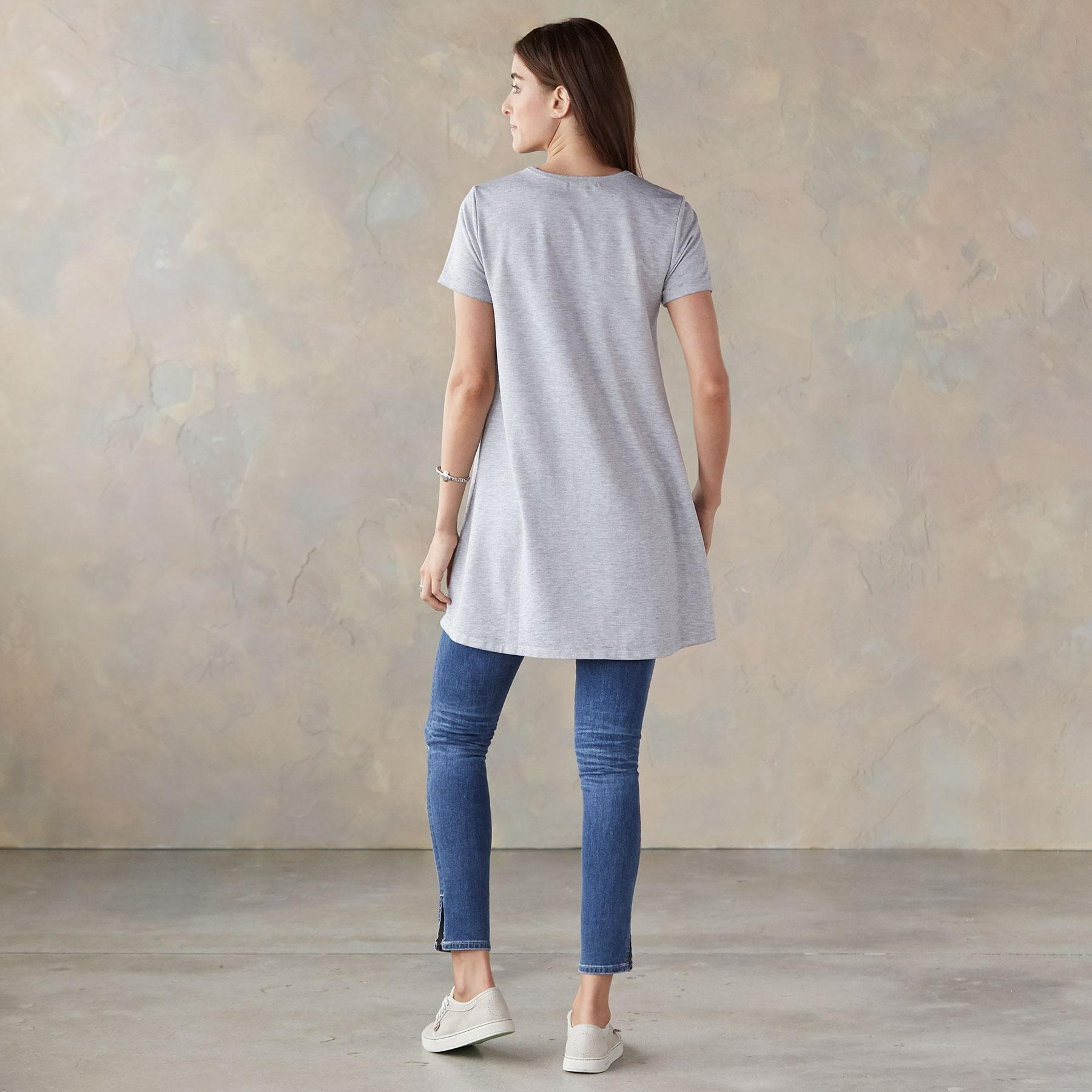 MONICA TEE TUNIC: View 2