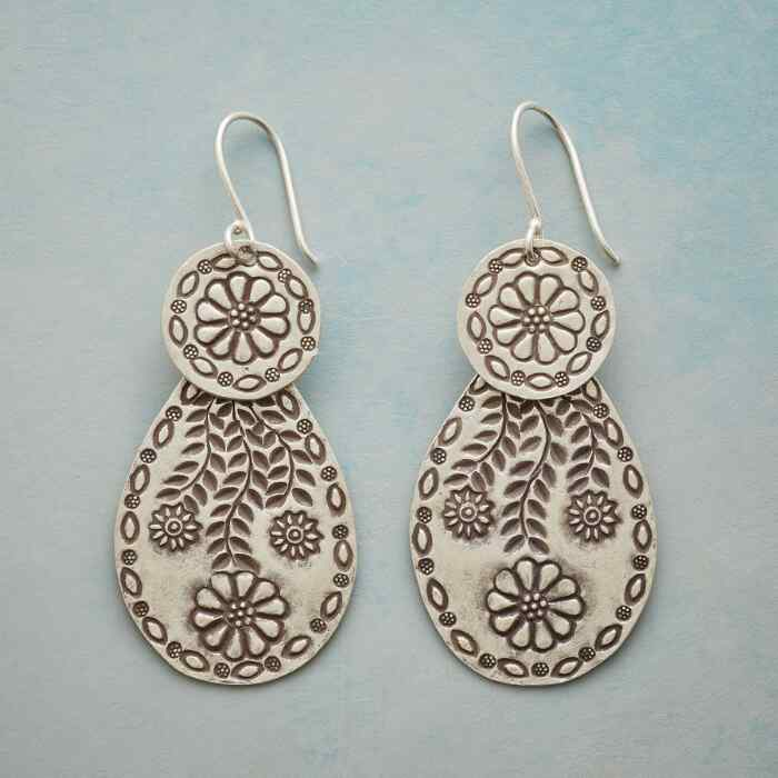 FERNS & FLOWERS EARRINGS