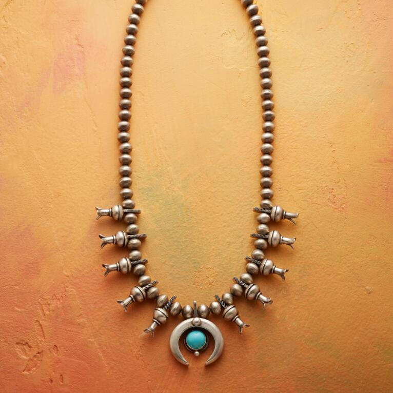 ESSENCE SQUASH BLOSSOM NECKLACE