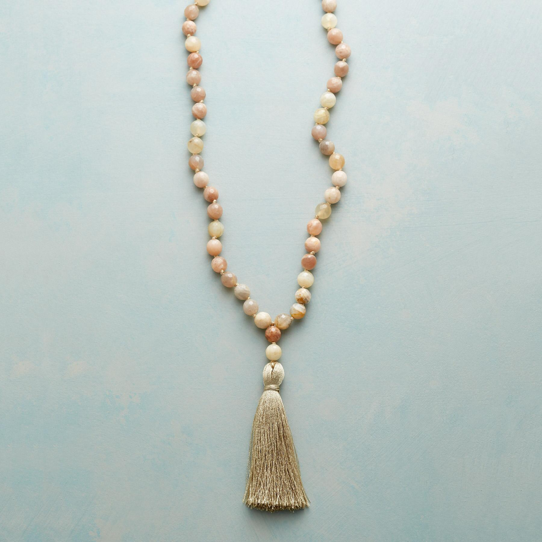 PEACHES AND SILK NECKLACE: View 1