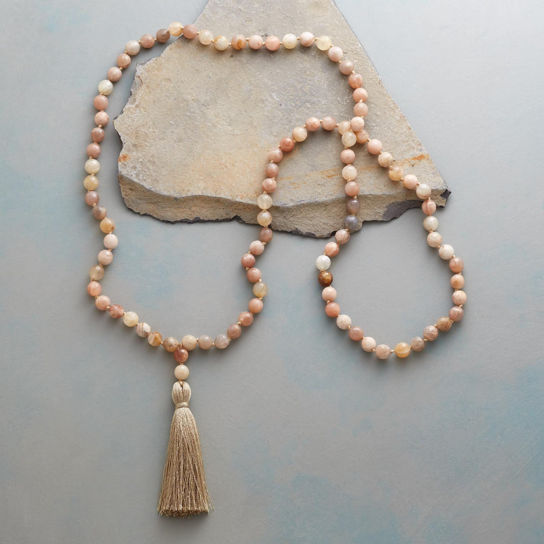 PEACHES AND SILK NECKLACE: View 2
