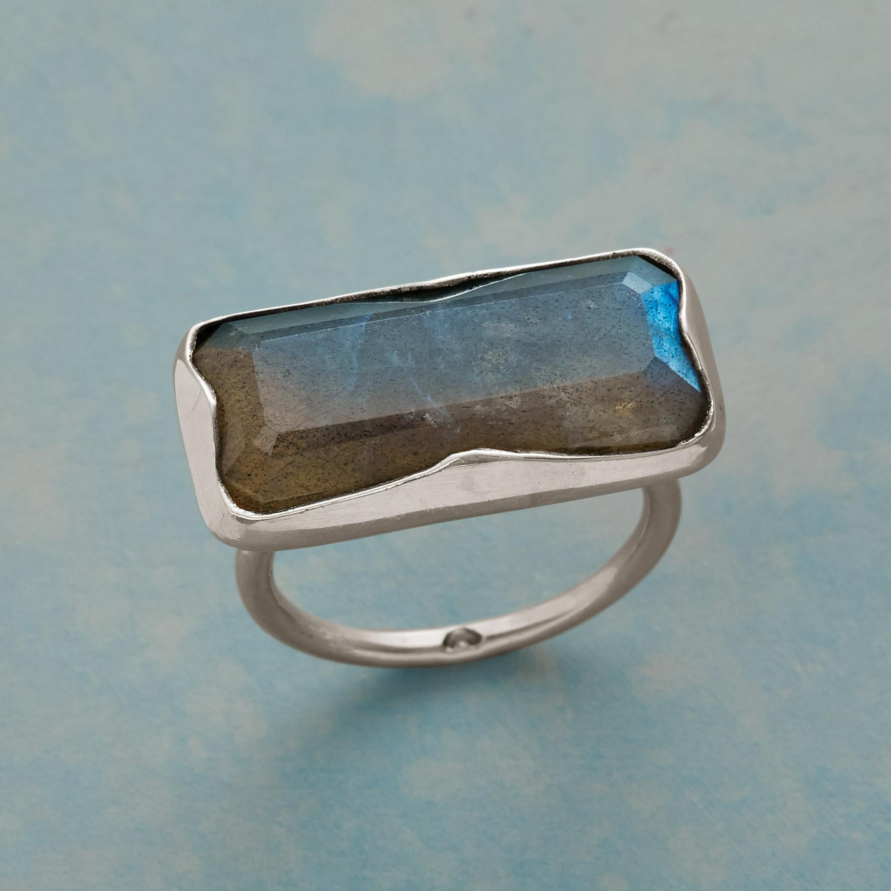 LONGVIEW LABRADORITE RING: View 1