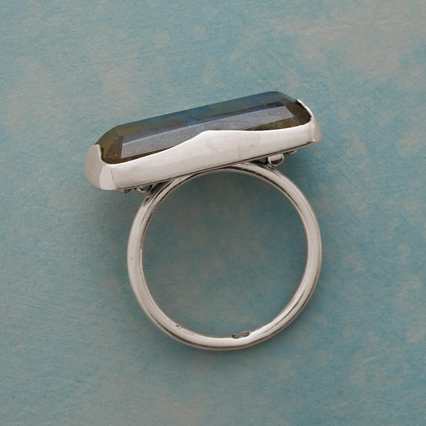 LONGVIEW LABRADORITE RING: View 2