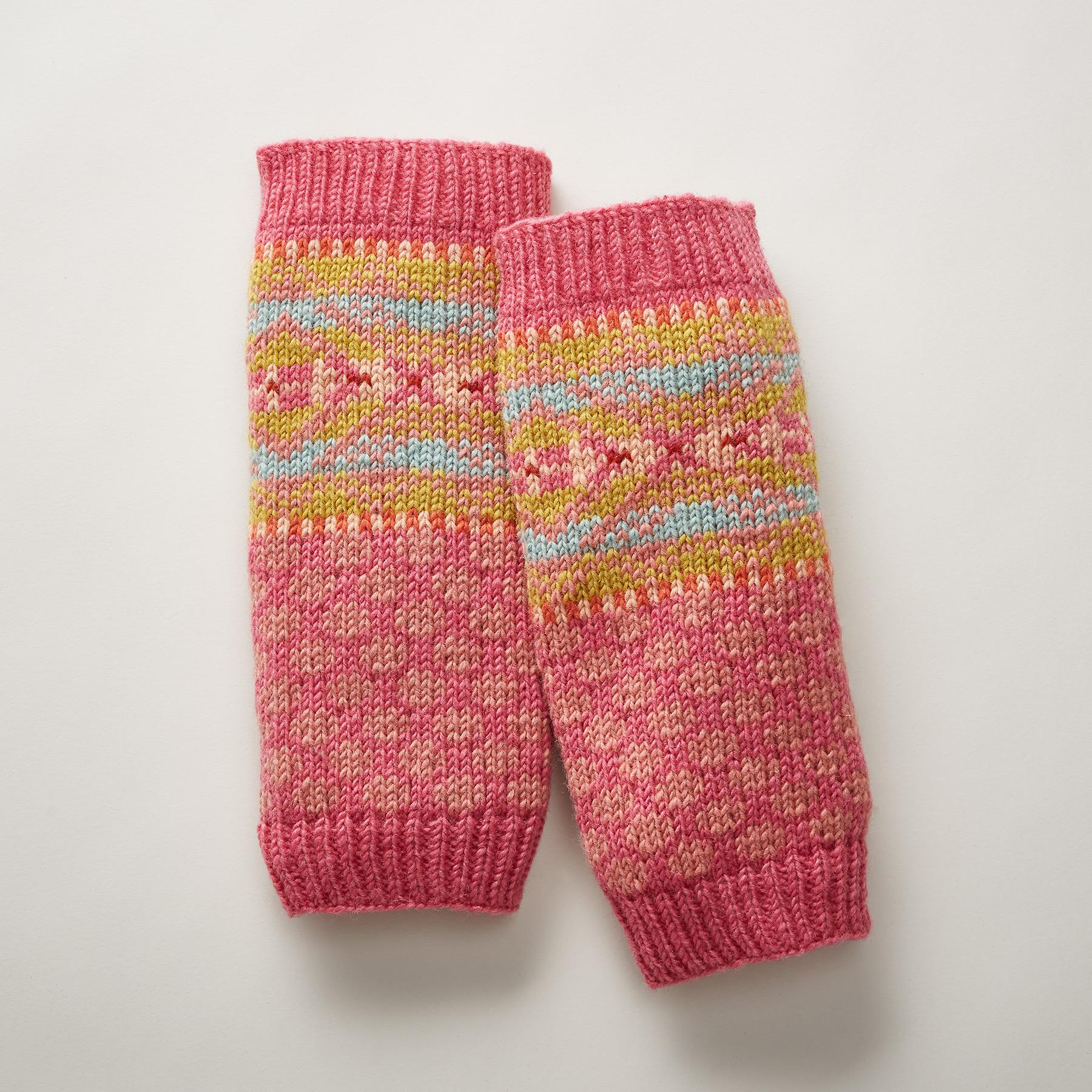 CIDER & SPICE LEG WARMERS: View 1