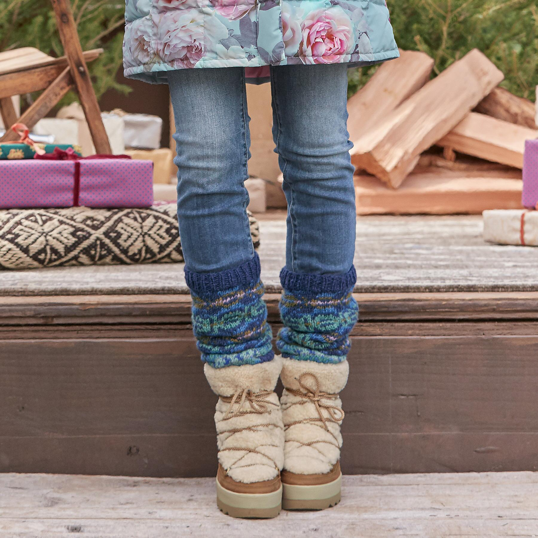 CIDER & SPICE LEG WARMERS: View 2