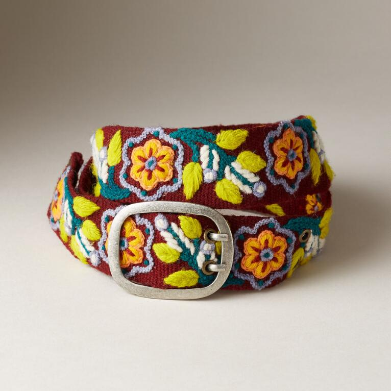 FLOWER DANCE BELT