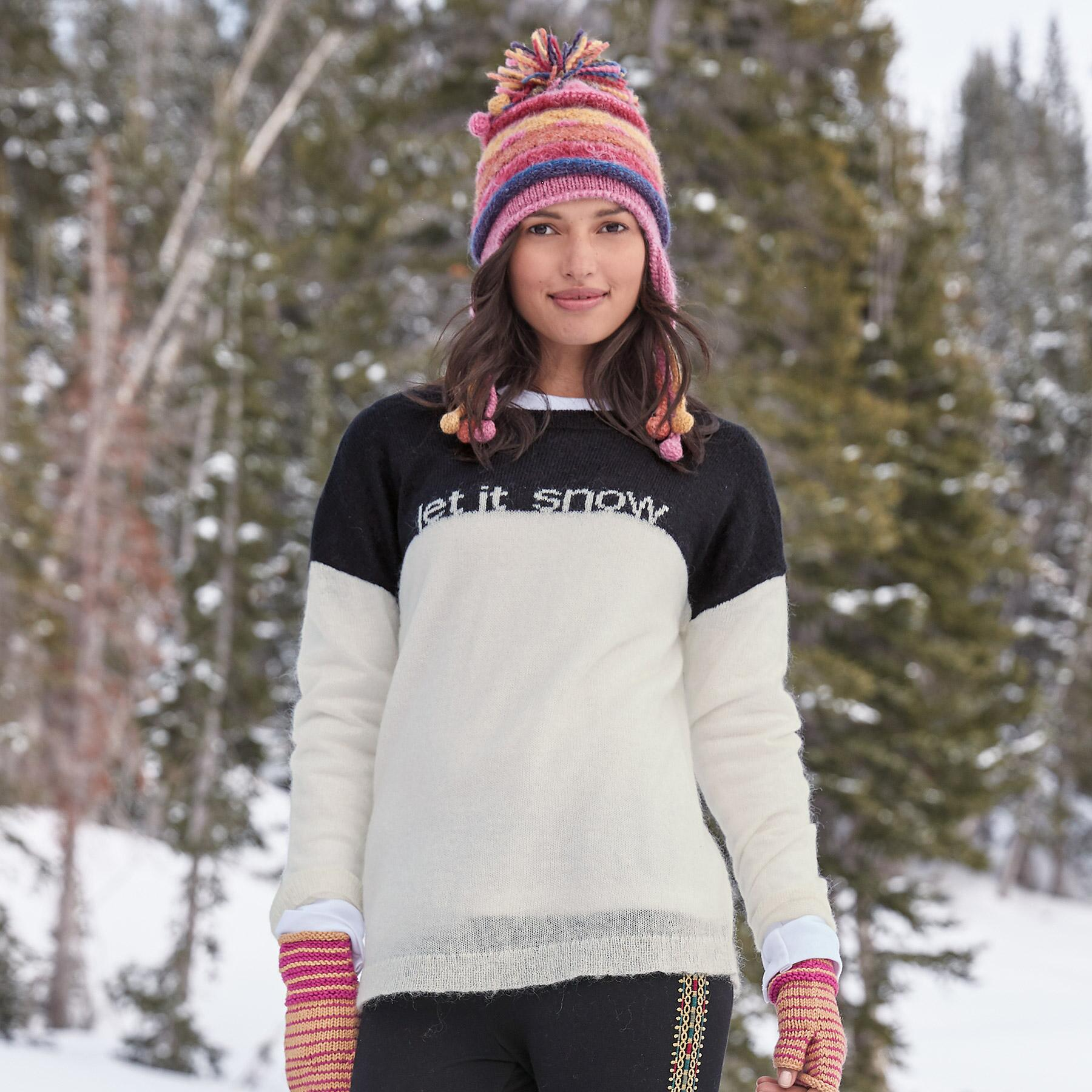 LET IT SNOW PULLOVER: View 1