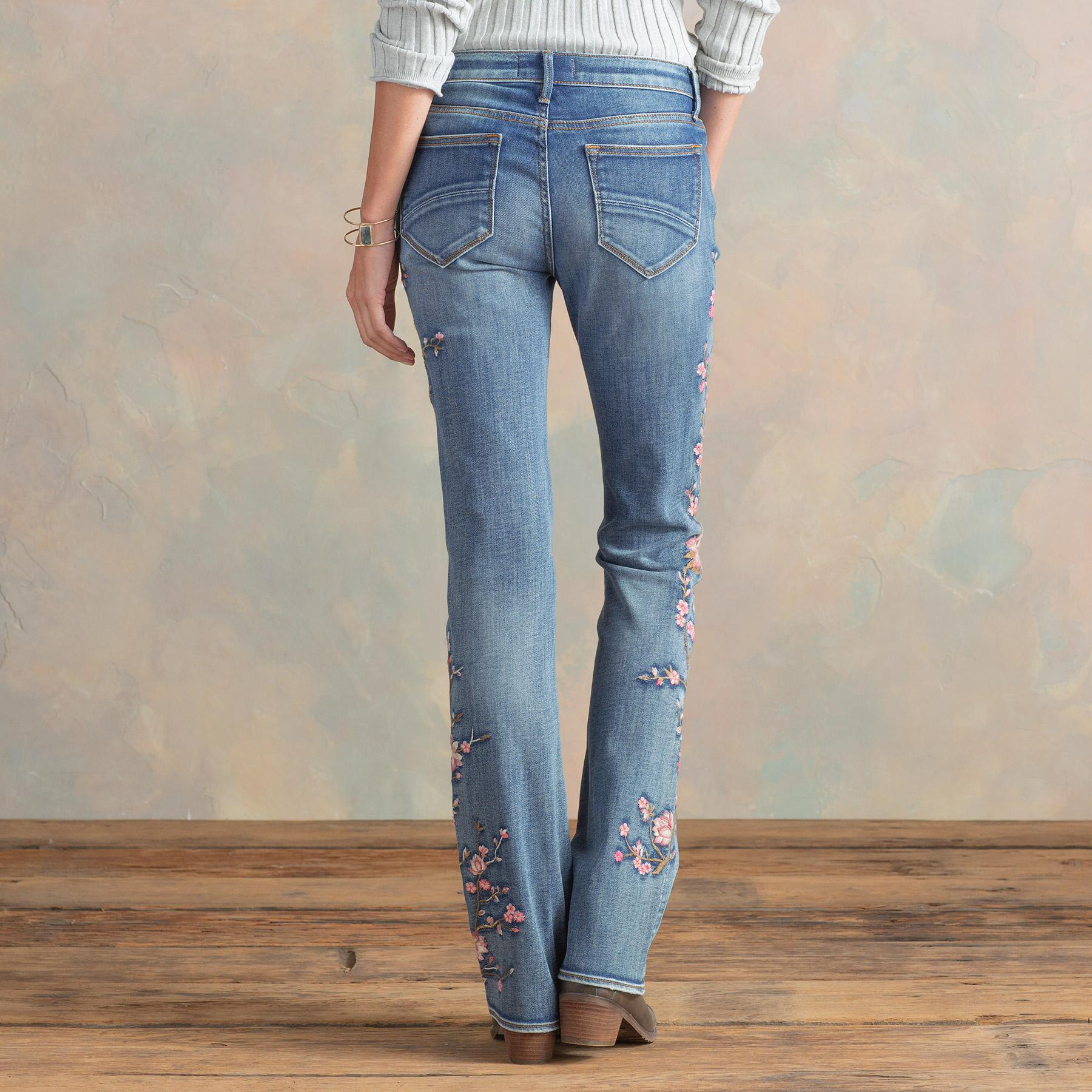 KELLY CHERRY BLOSSOM JEANS: View 3