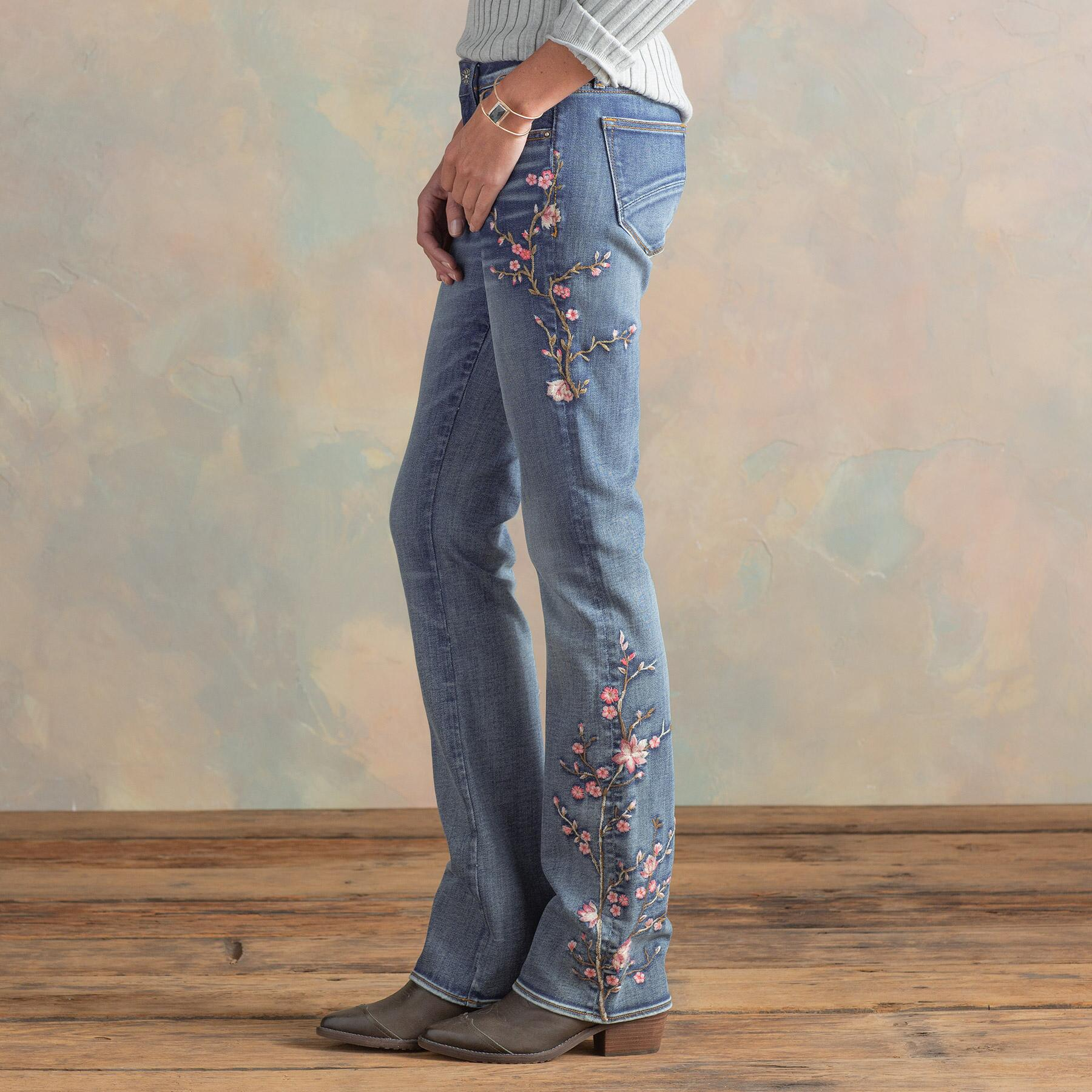 KELLY CHERRY BLOSSOM JEANS: View 4