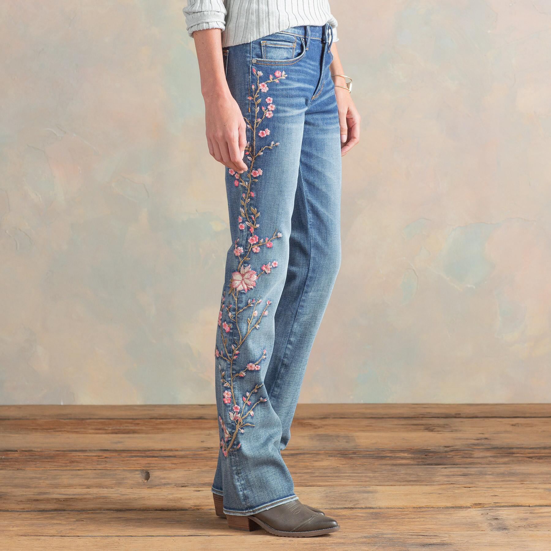KELLY CHERRY BLOSSOM JEANS: View 5