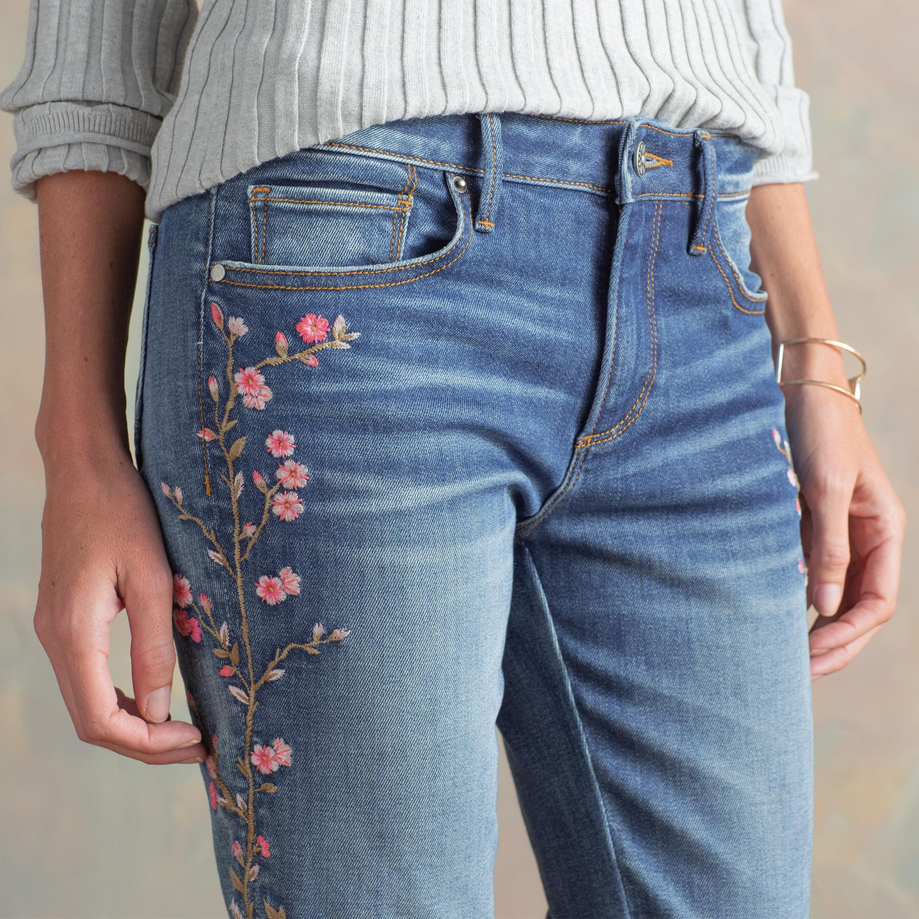 KELLY CHERRY BLOSSOM JEANS: View 6