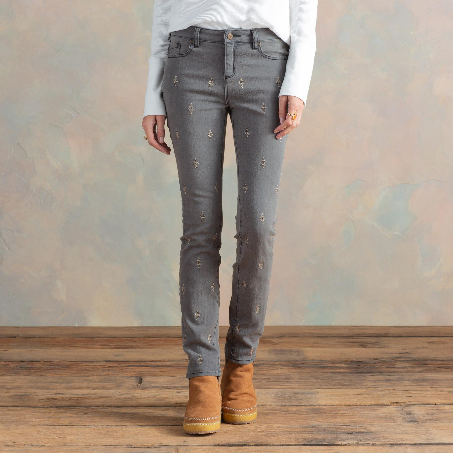 PRIMROSE PARTY JEANS: View 1