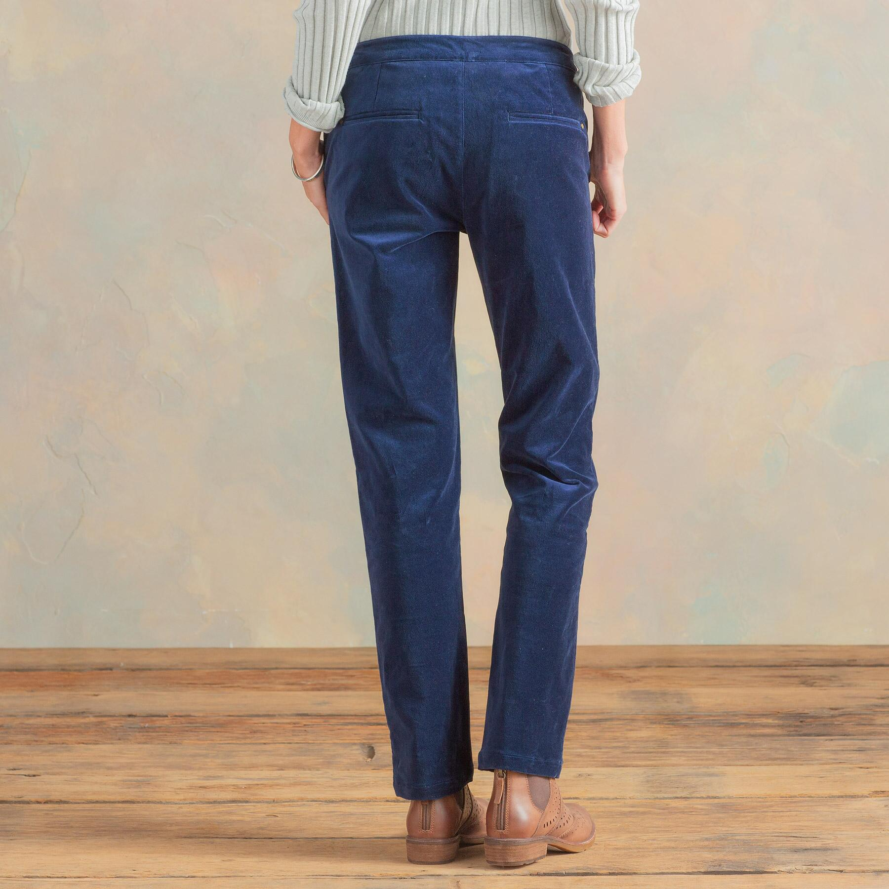 RELAXED VELVETEEN PANTS: View 2